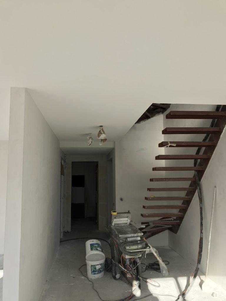 Spackspuiten van de Plafond (2)